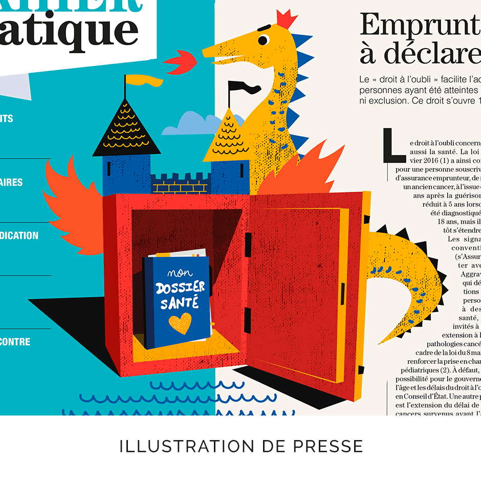 Illustration Presse Strasbourg