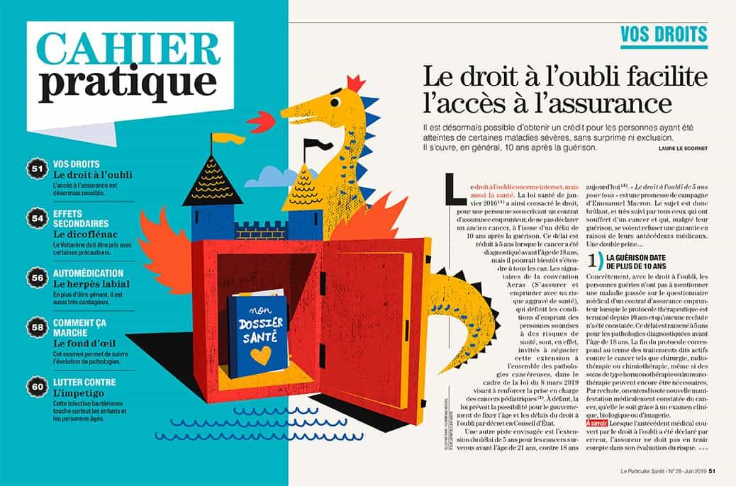 Illustration Le Particulier Le Figaro