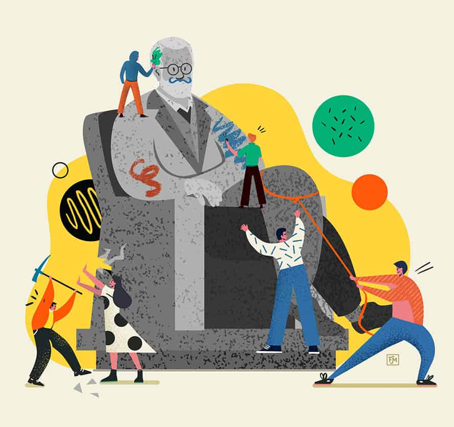 Freud et la Psychanalyse Florimond Mochel Illustrateur Strasbourg Presse Edition